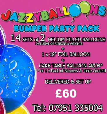 bumper party package