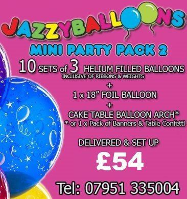 mini party package 2
